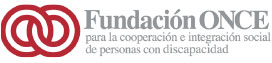 Logo de la Fundación ONCE para la cooperación e integración de personas con discapacidad