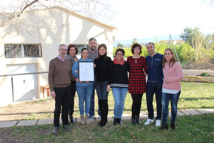 ICONG ha concedido el Certificado en Norma ONG Calidad al proyecto Helianthus de la Fundación Diagrama