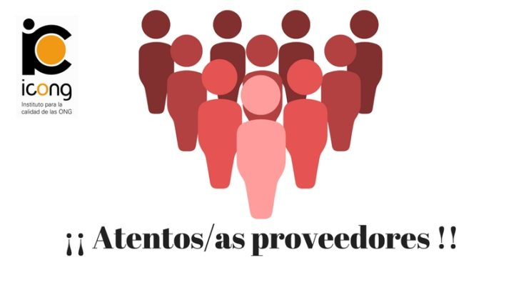 ¡¡ATENTOS/AS PROVEEDORES!!